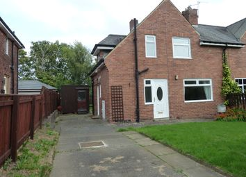 Thumbnail 3 bed semi-detached house to rent in West View, Morpeth