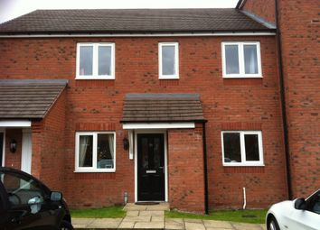 Thumbnail 2 bed flat to rent in Hobby Way, Cannock
