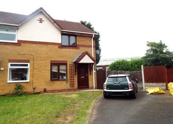 Thumbnail 2 bed semi-detached house to rent in Haines Close, Tipton