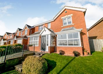 Thumbnail 4 bedroom detached house for sale in Kirkstone Close, Blaydon-On-Tyne