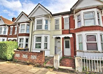 Thumbnail 3 bed terraced house to rent in Hardwick Road, Bedford