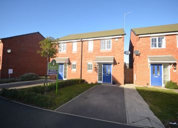 Thumbnail 2 bed semi-detached house for sale in Damselfly Road, Dragonfly Meadows, Northampton