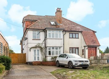 Thumbnail 4 bed semi-detached house for sale in Aldershot Road, Church Crookham, Fleet