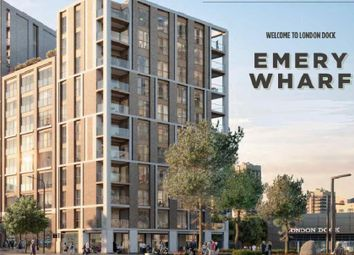 Thumbnail Studio for sale in Emery Way, London Dock, Wapping