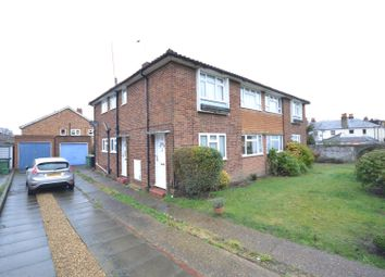 Thumbnail 2 bed maisonette for sale in Andrews Close, Epsom