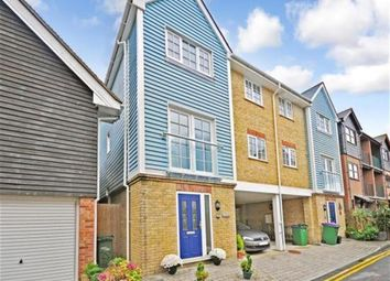 Thumbnail 4 bed town house to rent in Gough Road, Sandgate, Folkestone