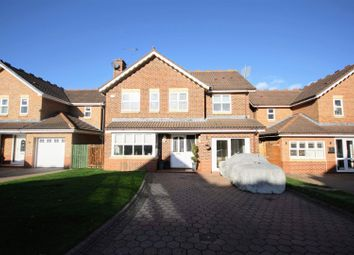 Thumbnail 4 bed detached house for sale in Hutton Close, Chester Le Street