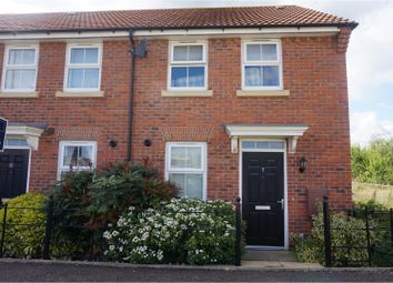 Thumbnail 2 bed end terrace house for sale in Newton Abbot Way, Bourne