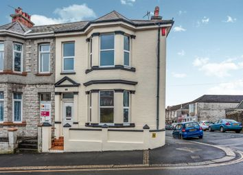Thumbnail 3 bed end terrace house for sale in Lipson Road, Lipson, Plymouth