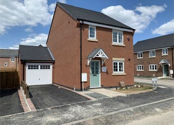 Thumbnail 3 bed detached house for sale in Northfield Road, Sapcote, Leicester