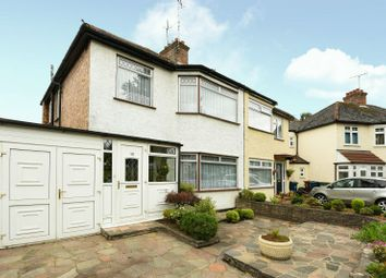 Thumbnail 3 bed semi-detached house for sale in Hooking Green, North Harrow, Middlesex