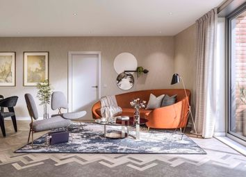 Thumbnail 2 bed flat for sale in Three Waters, London