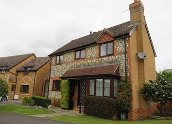 Thumbnail 4 bed detached house for sale in Simmance Way, Amesbury, Salisbury