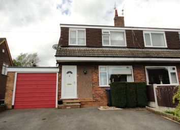 Thumbnail 3 bedroom semi-detached house to rent in Churnet Road, Forsbrook, Stoke-On-Trent
