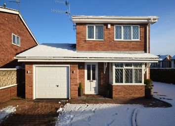 Thumbnail 3 bed detached house for sale in Barbrook Avenue, Meir Hay, Stoke-On-Trent