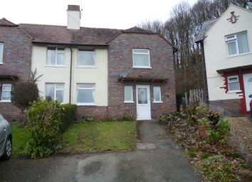 Thumbnail 3 bed semi-detached house to rent in Coppice Drive, Oswestry