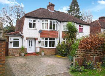 Thumbnail 3 bed semi-detached house for sale in Weybridge, Surrey