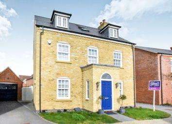 Thumbnail 5 bed detached house for sale in Woden Gardens, Great Denham, Bedford
