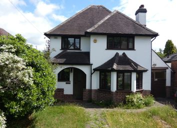 Thumbnail 3 bed detached house for sale in Stonehouse Road, Sutton Coldfield