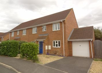 Thumbnail 4 bed semi-detached house for sale in Lime Close, Ruskington, Sleaford