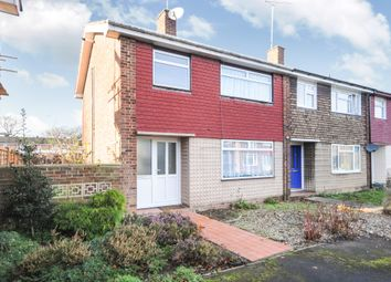 Thumbnail 3 bedroom end terrace house for sale in Meadgate Avenue, Great Baddow, Chelmsford