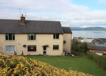 Thumbnail 3 bed flat for sale in Hillside Drive, Port Glasgow