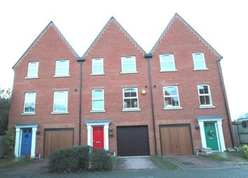 Thumbnail 3 bed town house to rent in Hawes Street, Ipswich