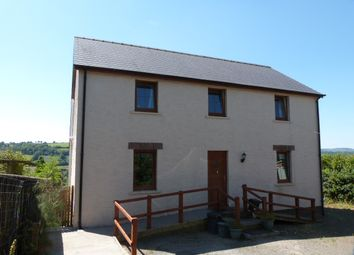 Thumbnail 4 bed detached house for sale in Llandysul