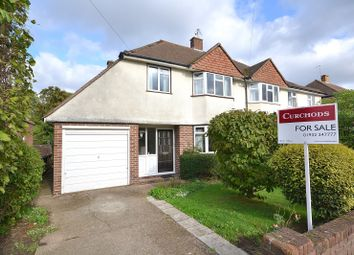 Thumbnail 3 bedroom semi-detached house for sale in York Gardens, Walton-On-Thames