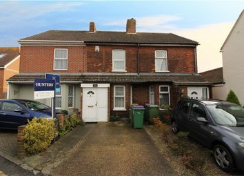 Thumbnail 2 bed terraced house for sale in Rose Cottages, Cheriton, Folkestone