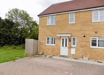 Thumbnail 3 bed end terrace house for sale in Wood Green, Cefn Glas, Bridgend.