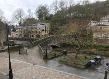 Thumbnail 1 bed flat to rent in Bridge Gate, Hebden Bridge, West Yorkshire