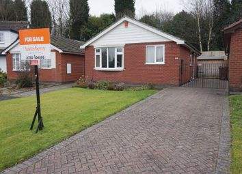 Thumbnail 2 bed detached bungalow for sale in Cookson Avenue, Dresden, Stoke-On-Trent, Staffordshire