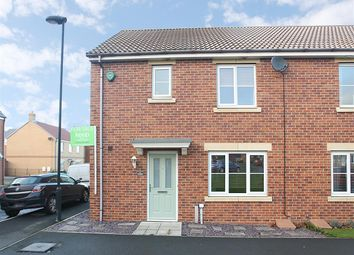 Thumbnail 3 bedroom end terrace house for sale in Dukesfield, Shiremoor, Newcastle Upon Tyne