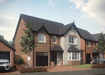 Thumbnail 4 bed detached house for sale in Woodfields, Hinstock, Market Drayton