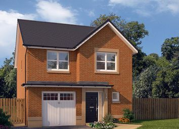 "Thumbnail 3 bedroom detached house for sale in ""The Newton"" at Edinburgh Road, Newhouse, Motherwell"