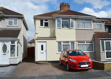 Thumbnail 3 bed semi-detached house for sale in Calbourne Avenue, Hornchurch