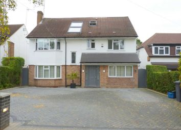 Thumbnail 5 bed detached house for sale in Bishops Avenue, Elstree, Borehamwood
