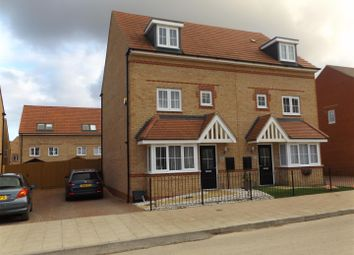 Thumbnail 4 bed semi-detached house for sale in Coles Road, Corby