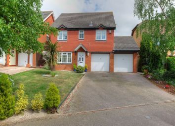Thumbnail 4 bed detached house for sale in Ganners Hill, Taverham