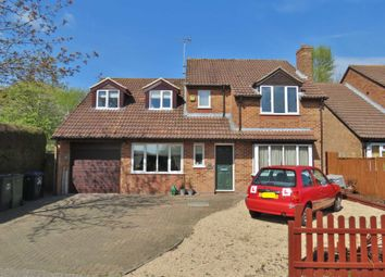 Thumbnail 4 bed detached house for sale in Ailesbury Way, Burbage, Marlborough