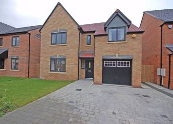 Thumbnail 4 bed detached house for sale in Vineyard Close, Killingworth, Newcastle Upon Tyne