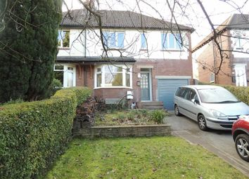 Thumbnail 4 bed semi-detached house to rent in Strines Road, Marple, Stockport