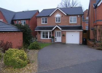 Thumbnail 4 bed detached house for sale in Tatton Close, Leicester