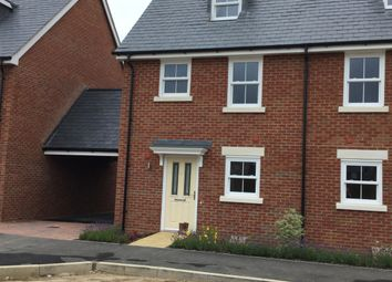 Thumbnail 3 bed town house for sale in Sherrington Grove, Biggleswade