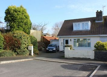 Thumbnail 2 bed semi-detached house for sale in St Annes Road, Trewoon, St Austell