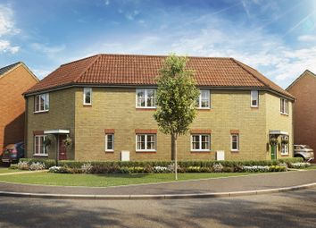 Thumbnail 3 bedroom semi-detached house for sale in Rockingham Gate, Priors Hall Park, Weldon, Corby