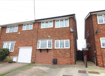 Thumbnail 3 bed semi-detached house for sale in Springwater Road, Eastwood, Leigh-On-Sea