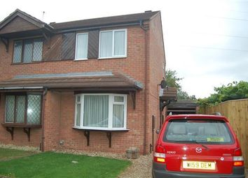 Thumbnail 2 bedroom semi-detached house to rent in Dorrington Close, Ruskington, Sleaford