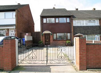 Thumbnail 3 bed town house for sale in Dividy Road, Bentilee, Stoke-On-Trent